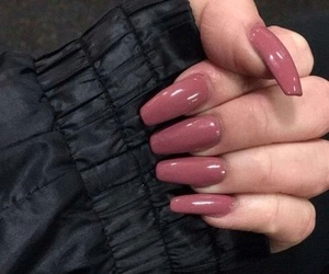 french, pink, and gelnails image