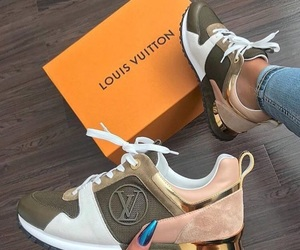shoes, Louis Vuitton, and sneakers image
