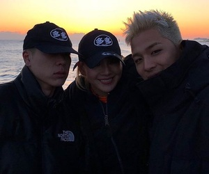 CL, 2ne1, and taeyang image