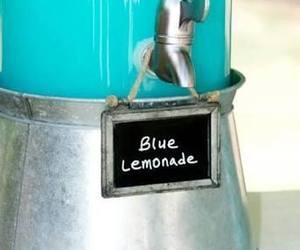 percy jackson, blue food, and birthday ideas image