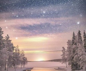 winter, landscape, and snow image