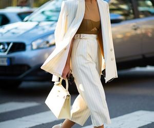 blazer, chic, and street fashion image