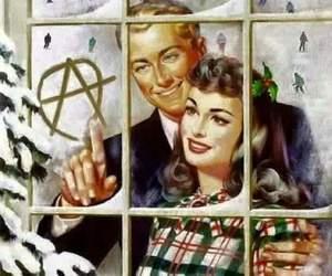 christmas, funny, and blow me image