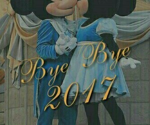 new year, disney, and kiss image