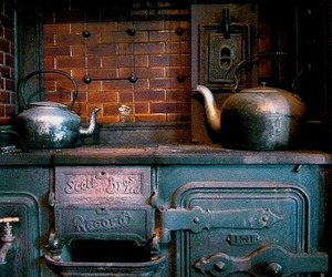kitchen, new zealand, and old image