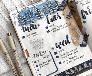 december, doodles, and planner image