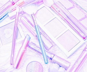 pastel and makeup image