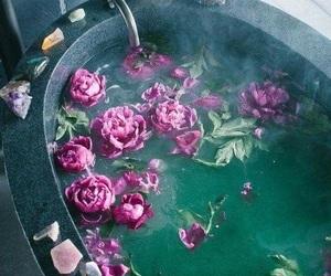 aesthetic, bathtub, and interior image