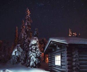 stars and winter image