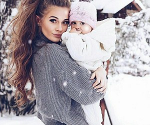 baby and winter image