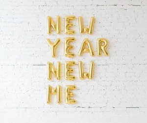 new year, me, and resolution image