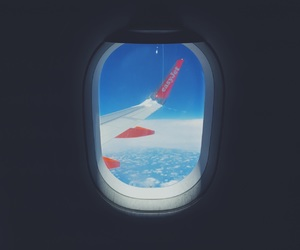 aesthetic, airplane, and inspiration image