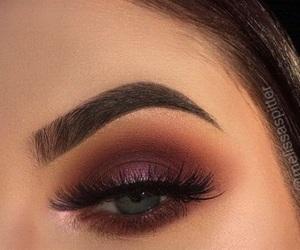 beauty, eyebrow, and eyes image