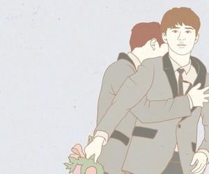Chen, kyungsoo, and sehun image