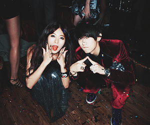 hyuna, hyunseung, and 4minute image