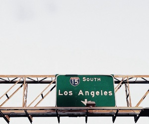 los angeles, california, and travel image