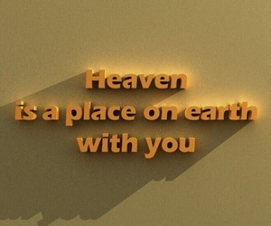 quotes, heaven, and love image