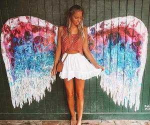 angel, art, and blonde image