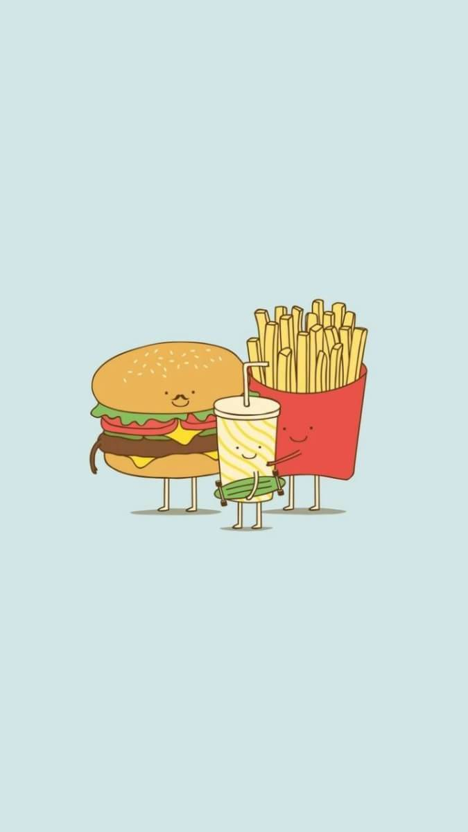 background, tumblr, and fast food image