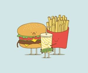 background, lockscreen, and fast food image