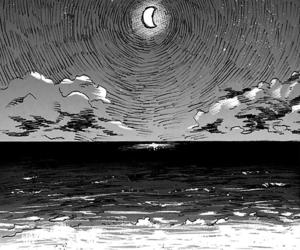 anime, art, and beach image