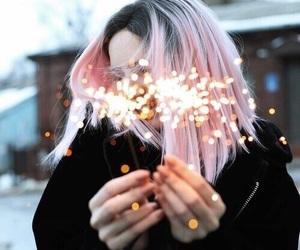 aesthetics, firework, and beauty image