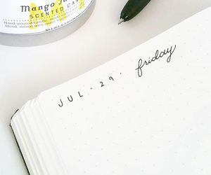 creative, diary, and planner image
