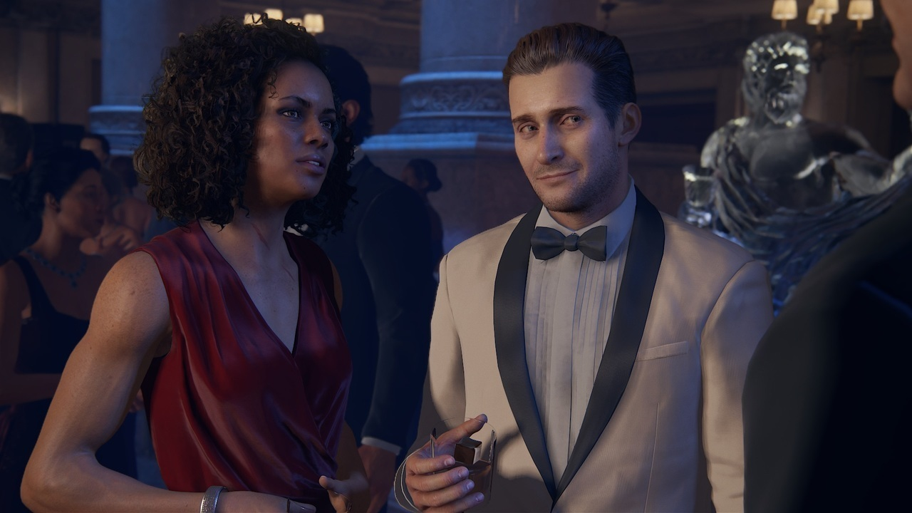 Nadine Ross Rafe Adler And Victor Sullivan In Uncharted 4 A