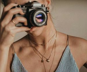 fashion, camera, and jewelry image