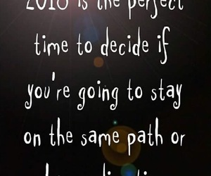 new years, quotes, and resolutions image
