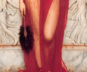 art, red, and greek image
