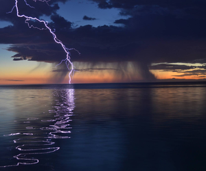 amazing, electricity, and clouds image