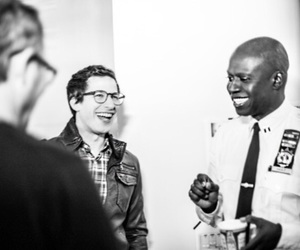 andy samberg and andre braugher image
