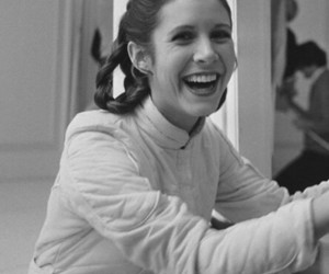 carrie fisher, photography, and culture image