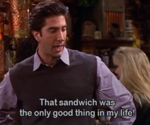 friends, sandwich, and funny image