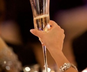 champagne, cheers, and hollidays image