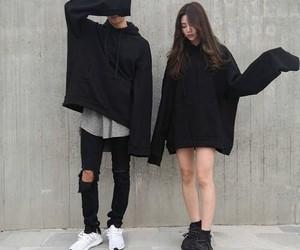 aesthetic, couple, and grunge image