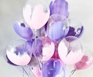holidays, pastel, and purple image