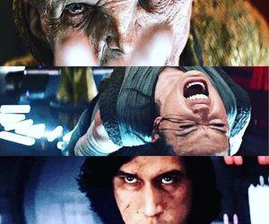 snoke, star wars, and kylo ren image