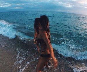 beach, love, and goals image