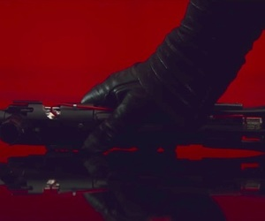 star wars, the last jedi, and kylo ren image