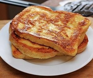 food, toast, and breakfast image