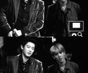exo, baekhuyn, and chanyeol image
