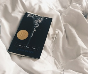 artsy, bed, and book image