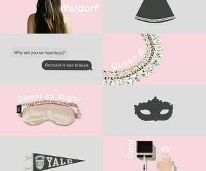 aesthetic, blair waldorf, and character image