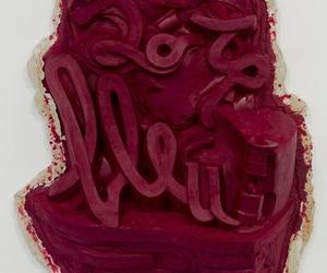 art, burgundy, and maroon image