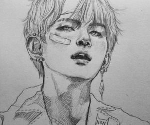 Simple And Easy Bts Drawings Www Picturesso Com