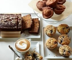 coffee, breakfast, and sweets image