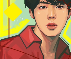 fanart, bts, and jin image