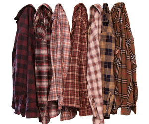 casual fashion, etsy, and flannel shirts image
